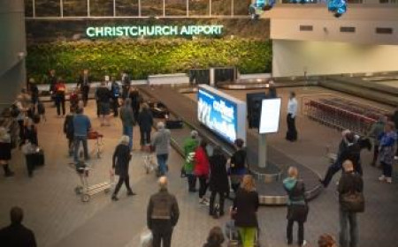 Living Wall Christchurch Airport