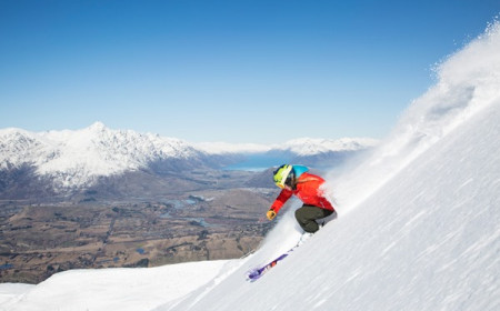 Coronet Peak Queenstown by Neil Kerr